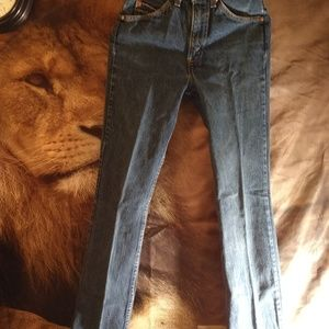 Orange tag Levi's jeans size 28x34 women's